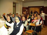 Assemblée des religieuses à Belval