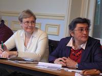 B.Bodart membre du conseil, Martine, témoin