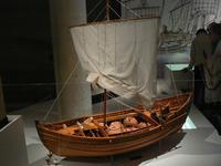 Modèle de bateau pour navigation fluviale, 1er siè
