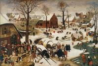 Bruegel Le dénombrement