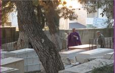 Ramallah funéraille paroisse Ste Famille