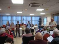 Noël, les enfant et l'EPAD