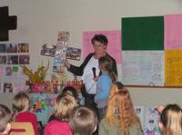 partage avec les enfants de la catéchèse