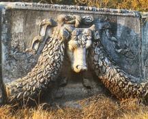 Ephese taureau guirlande