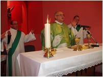 1ère messe à la Maison du doyenné de Béthune