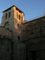 Lever de soleil sur l'église de la Résurrection
