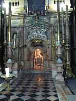 Jérusalem, l'emplacement de la tombe