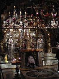 Jérusalem, chapelle du Golgotha