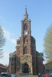Noeux-les-Mines, église Ste Barbe
