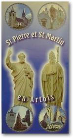 bannière de la paroisse St Pierre et St Martin en Artois
