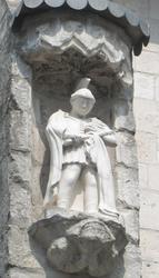 Statue St Martin Hersin