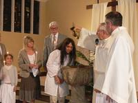 Baptême de Lovita Hocquet