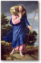 Jésus, le bon Berger qui nous rassemble