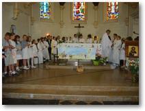 Bouvigny-Boyeffles, profession de foi 2011, la communion
