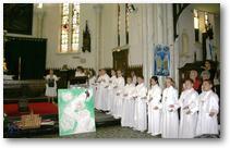 Noeux-les-Mines, profession de foi 2011, les enfants