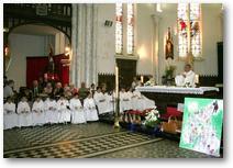Noeux-les-Mines, profession de foi 2011, les enfants (2)