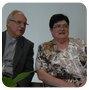 Mgr Jaeger et Jocelyne Debret