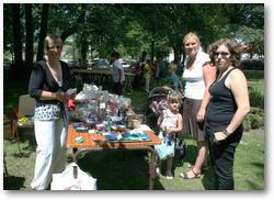 Kermesse d'Hersin-Coupigny 2011, un stand