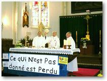 Messe du départ de Roland Delplanque (26 juin 2011) -Consécration