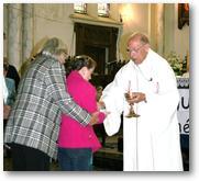 Messe du départ de Roland Delplanque (26 juin 2011) -Communion