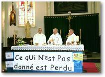 Messe du départ de Roland Delplanque (26 juin 2011) -Eucharistie