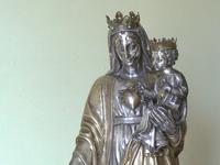 Détail: le coeur de Marie