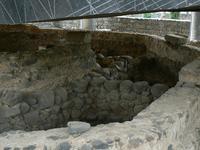 Capharnaum emplacement de la maison de Pierre, sous l'actuelle église moderne