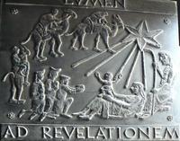 Lumière pour les nations. Porte de bronze visite des Mages; Nazareth