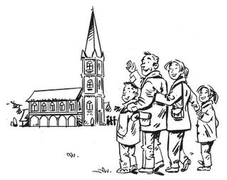 Messes des familles pour l 39 avent - Coloriage catholique ...