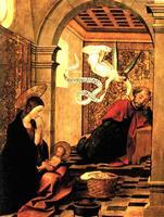 Pendant le sommeil de Joseph, Dieu lui confie la mission d'élever et de protéger Jésus