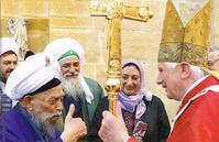 Pèlerin de la paix à Assise