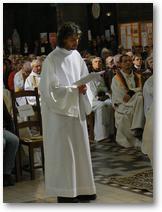 Lens ordination diaconale