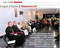 Veillée interreligieuse à Lille