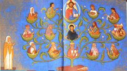 L'arbre de Jessé: du père de David à Jésus