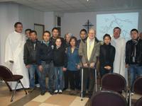 Accueil de Vietnamiens réfugiés église des Brebis