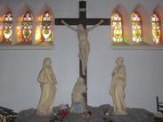 Noeux les Mines, église St Martin, calvaire (transept droit)