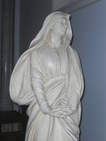 Noeux les Mines, église St Martin, calvaire, statue de la Vierge