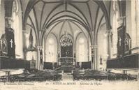 Noeux les Mines, église St Martin - après 1918 (église restaurée) mais avant 1924 (car pas encore de stalles)