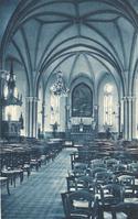 Noeux les Mines, église St Martin - Après 1925 (stalles en place dans le choeur)