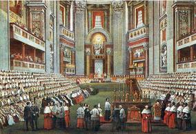 Vatican I - Assemblée 1870