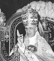Tiare portée par Pie XII