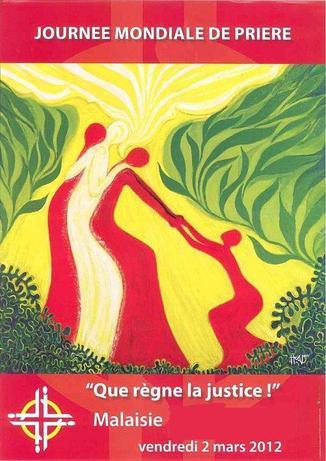 Journée mondiale de Prière 2012 - affiche