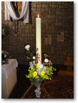 Le cierge pascal