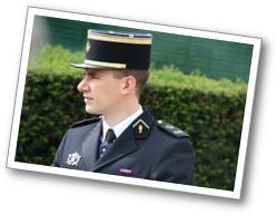 Gilles Lherbier - En costume d'aumônier