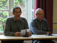 Entretien Mgr Jaeger à la Maison diocésaine