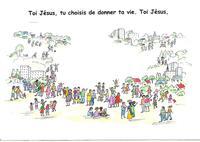 carte couleur Toi Jésus