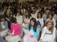 premières eucharisties à HENIN