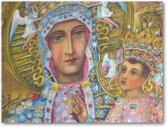 Description: Notre Dame de Czestochowa, église de Fresnicourt-le-Dolmen