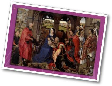 Tableau de la Nativité de Van der Weyden