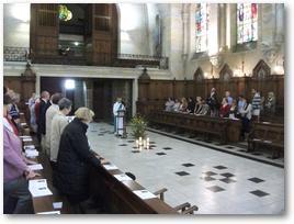 Messe de rentrée 2012